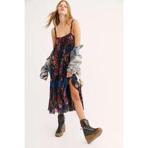 Free People More is More Midi Slip Dress